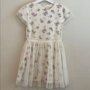 Girls floral dress size 4/5